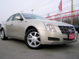 2009 Gold Mist Cadillac CTS Sedan #25580741