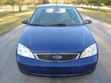 2005 Sonic Blue Metallic Ford Focus ZX3 SE Coupe #25581199