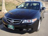 2006 Nighthawk Black Pearl Acura TSX Sedan #25581201