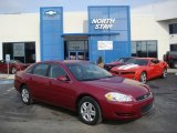 2006 Sport Red Metallic Chevrolet Impala LS #25580949