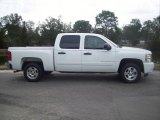 2008 Summit White Chevrolet Silverado 1500 LT Crew Cab #25581085