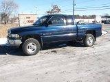 2000 Patriot Blue Pearlcoat Dodge Ram 1500 SLT Extended Cab 4x4 #25632005