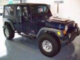 2006 Midnight Blue Pearl Jeep Wrangler Unlimited 4x4 #25631710