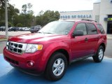 2009 Redfire Pearl Ford Escape XLT #25631858