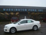 2010 White Platinum Tri-coat Metallic Ford Fusion SEL #25632031