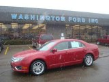 2010 Sangria Red Metallic Ford Fusion SEL #25632032