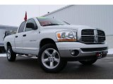 2006 Bright White Dodge Ram 1500 SLT Quad Cab 4x4 #25632176