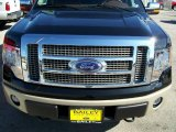 2010 Tuxedo Black Ford F150 Lariat SuperCrew 4x4 #25631873