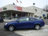 2007 Laser Blue Metallic Chevrolet Cobalt LS Coupe #25632057
