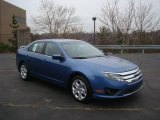2010 Sport Blue Metallic Ford Fusion SE #25631902