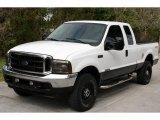 2003 Oxford White Ford F250 Super Duty XLT SuperCab 4x4 #25631944