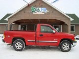 1999 Victory Red Chevrolet Silverado 1500 Z71 Regular Cab 4x4 #25632103