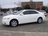 2008 Super White Toyota Camry LE #25632121
