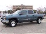 2006 Blue Granite Metallic Chevrolet Silverado 1500 Z71 Crew Cab 4x4 #25632124