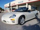 2003 Dover White Pearl Mitsubishi Eclipse Spyder GT #2563758