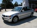 2003 Titanium Silver Metallic BMW 3 Series 325xi Sedan #256605