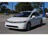2007 Taffeta White Honda Civic Si Sedan #25632271