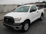 2008 Super White Toyota Tundra Regular Cab #25632275