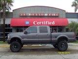 2003 Dark Shadow Grey Metallic Ford F250 Super Duty Lariat Crew Cab 4x4 #25631822