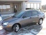 2005 Liquid Grey Metallic Ford Focus ZX4 SES Sedan #2565072