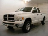 2003 Bright White Dodge Ram 1500 SLT Quad Cab 4x4 #25676100
