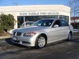 2006 Titanium Silver Metallic BMW 3 Series 325xi Sedan #2558326
