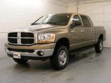 2006 Light Khaki Metallic Dodge Ram 1500 SLT Mega Cab 4x4 #25676105