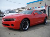 2010 Victory Red Chevrolet Camaro LS Coupe #25675925