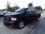 2003 Black Dodge Ram 1500 Laramie Quad Cab 4x4 #25676140