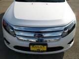 2010 White Platinum Tri-coat Metallic Ford Fusion Hybrid #25675951