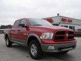 2009 Inferno Red Crystal Pearl Dodge Ram 1500 TRX4 Crew Cab 4x4 #25675985
