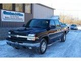 2005 Black Chevrolet Silverado 1500 Z71 Crew Cab 4x4 #25675999
