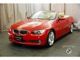 2009 Crimson Red BMW 3 Series 335i Convertible #25698177