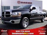 2006 Black Dodge Ram 1500 ST Quad Cab #25698344