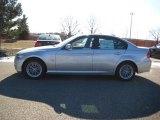 2010 Titanium Silver Metallic BMW 3 Series 328i xDrive Sedan #25698363