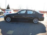 2010 Jet Black BMW 3 Series 328i xDrive Sedan #25698364
