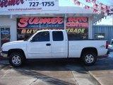 2004 Summit White Chevrolet Silverado 1500 LS Extended Cab 4x4 #25698419