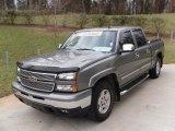 2006 Graystone Metallic Chevrolet Silverado 1500 Z71 Crew Cab 4x4 #25698571