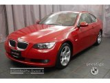 2007 Crimson Red BMW 3 Series 328xi Coupe #2557445