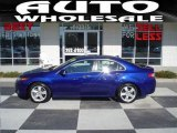 2009 Vortex Blue Pearl Acura TSX Sedan #25710018