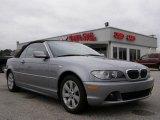 2006 Silver Grey Metallic BMW 3 Series 325i Convertible #25709866