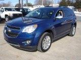 2010 Navy Blue Metallic Chevrolet Equinox LTZ #25709710
