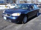 2007 Dark Blue Metallic Chevrolet Malibu LS Sedan #25709712