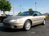 2002 Light Almond Pearl Metallic Chrysler Sebring LX Convertible #25710189
