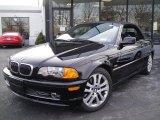 2001 Jet Black BMW 3 Series 330i Convertible #25709895