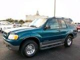 2001 Tropic Green Metallic Ford Explorer Sport #25710204