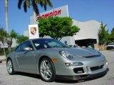 2007 Arctic Silver Metallic Porsche 911 Carrera S Coupe #2557693