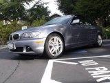 2006 Silver Grey Metallic BMW 3 Series 330i Convertible #25710229