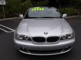2006 Titanium Silver Metallic BMW 3 Series 330i Convertible #25710249