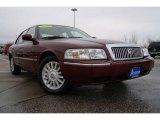 2009 Dark Toreador Red Metallic Mercury Grand Marquis LS Ultimate Edition #25710116